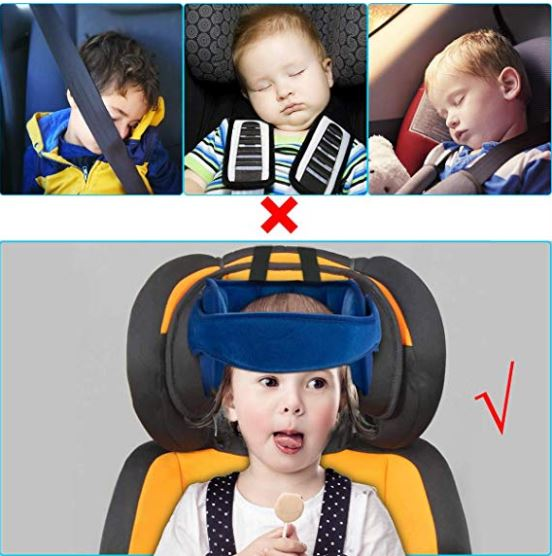 Martem Child Car Seat Head Support