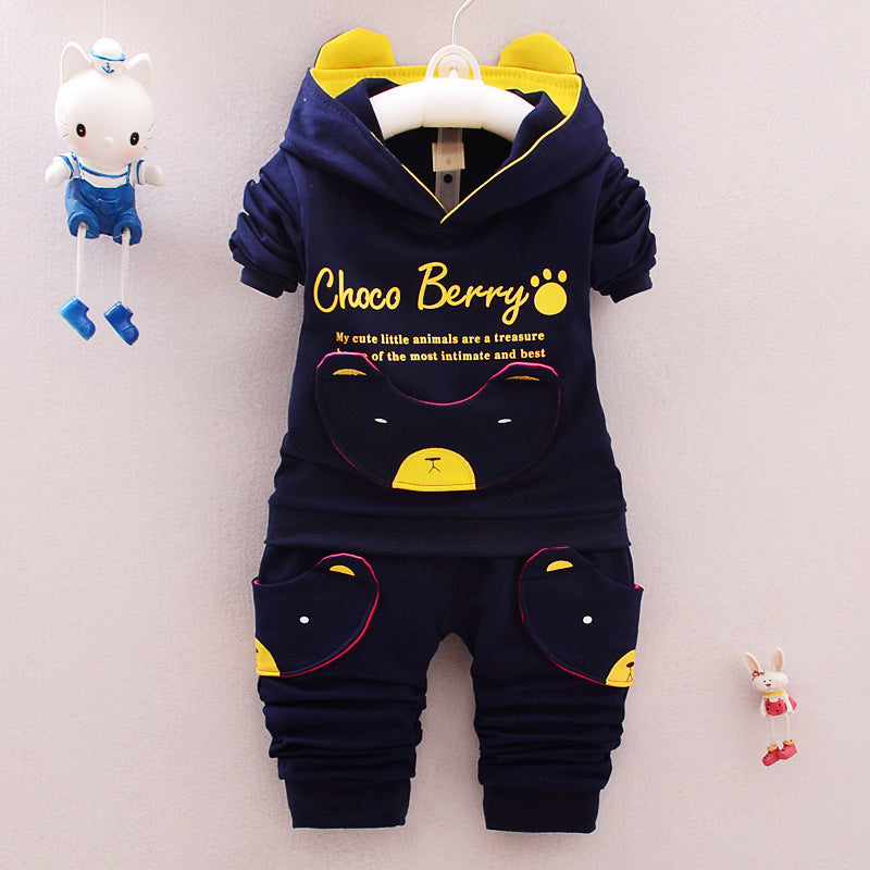 Unisex Cotton Pullover  2 Pieces Suit