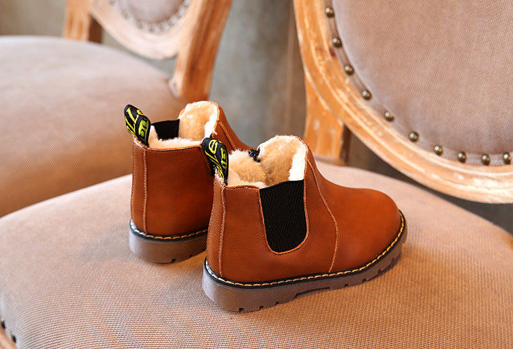 Comfortable Retro Leather Boot For Children - Martem Collection