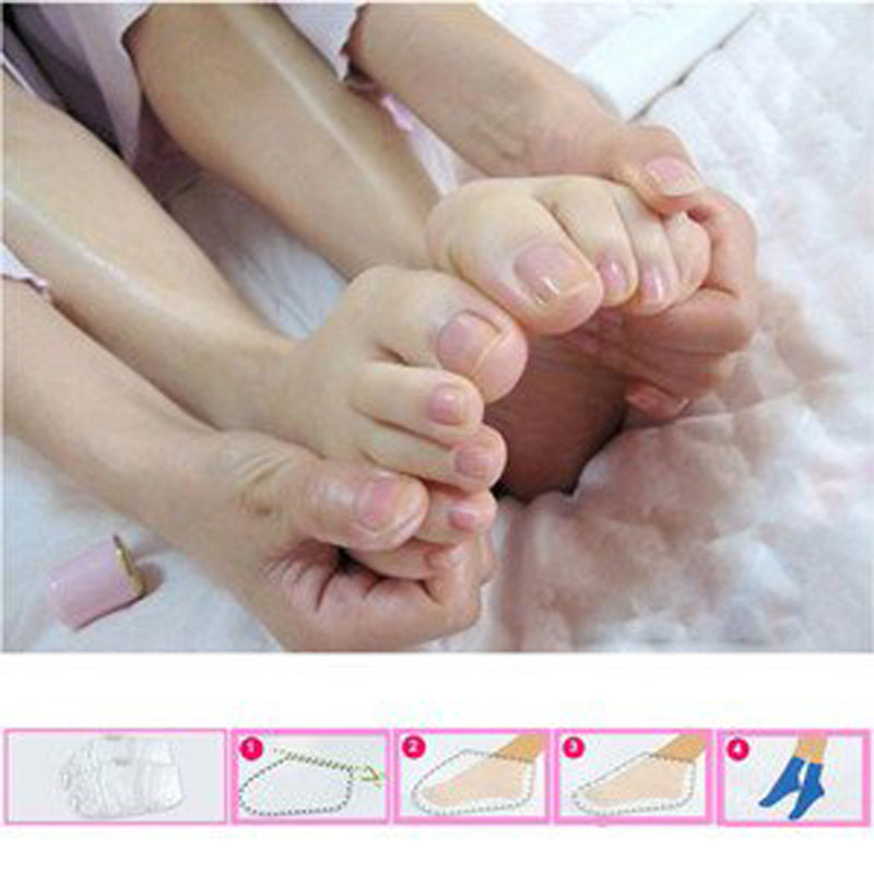 Hot! Peeling Feet Mask Exfoliating Socks For Pedicure - Martem Collection