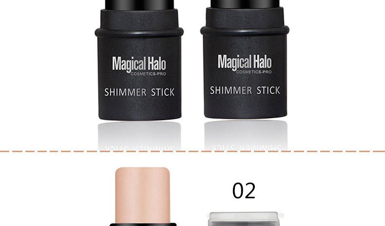 2 Color Face Contouring Makeup Shimmer Stick/Highlighter - Martem Collection
