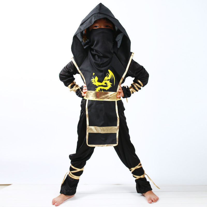 Black Ninja  Costume Clothe Set for boys - Martem Collection