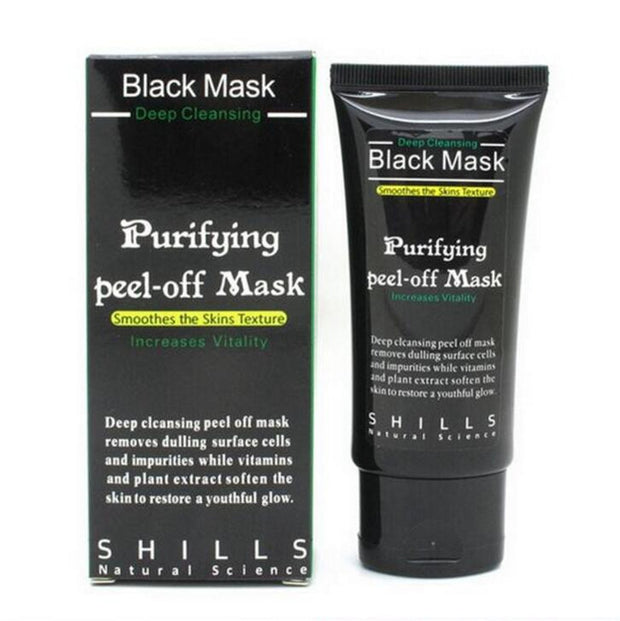Deep Cleansing Purifying Peel Off Black Facial Mask - Martem Collection