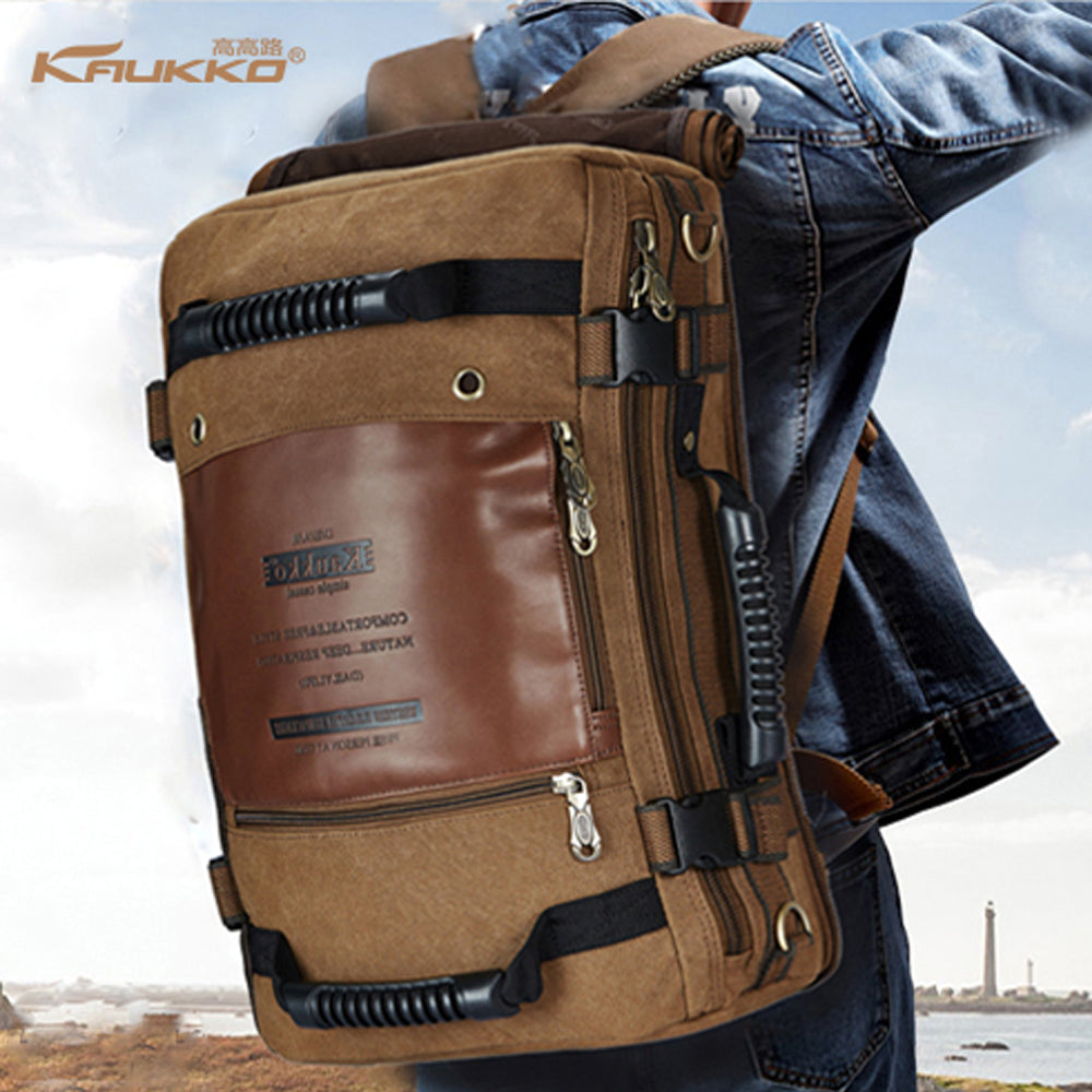 Men Travel/School/Computer Shoulder Backpack (Multi-functional Bag). - Martem Collection
