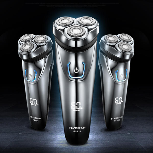 Washable and Rechargeable Men's Electric Shaver