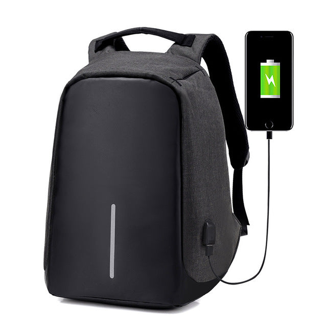 Anti-Theft USB Charging Travel Backpack - Martem Collection