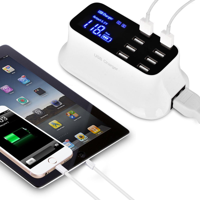 Smart 8-Port USB Charger (FREE Shipping)
