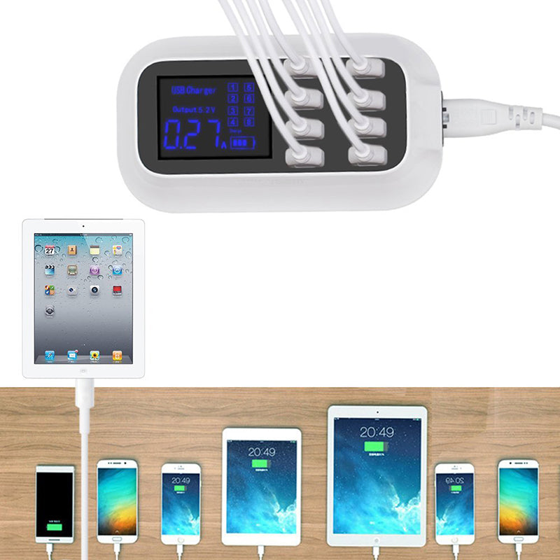 Smart 8-Port USB Charger (FREE Shipping) - Martem Collection