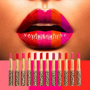 12 Color Moisture Shimmer Matte Lipstick Set-Waterproof Long Lasting Lipstick - Martem Collection