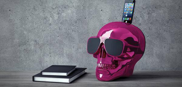 Skull Wireless Bluetooth Speaker-FREE SHIPPING - Martem Collection