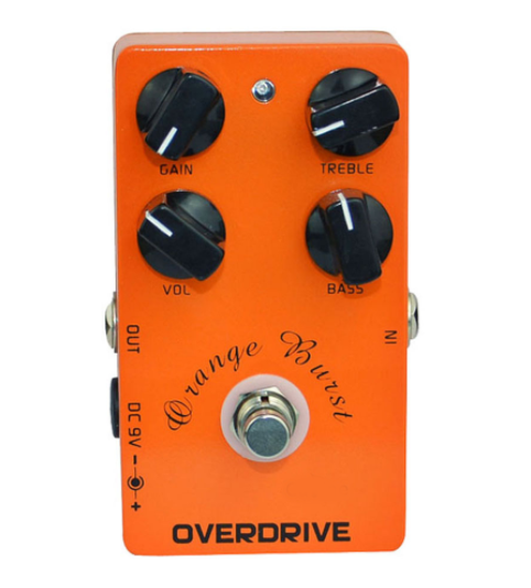 Maestro Orange CPM-18 Overdrive Pedal True Bypass EQ - Shred Maestro