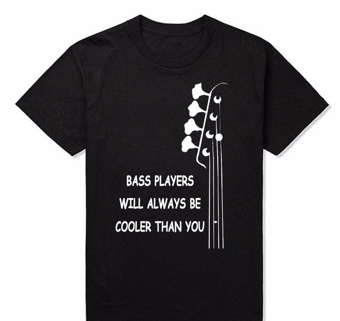 Custom Tee-Bass Players T-shirt - Shred Maestro