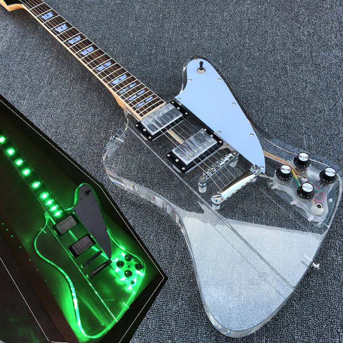 Limited Edition Custom Vintage: Crystal Lux 'S-1E' - Shred Maestro