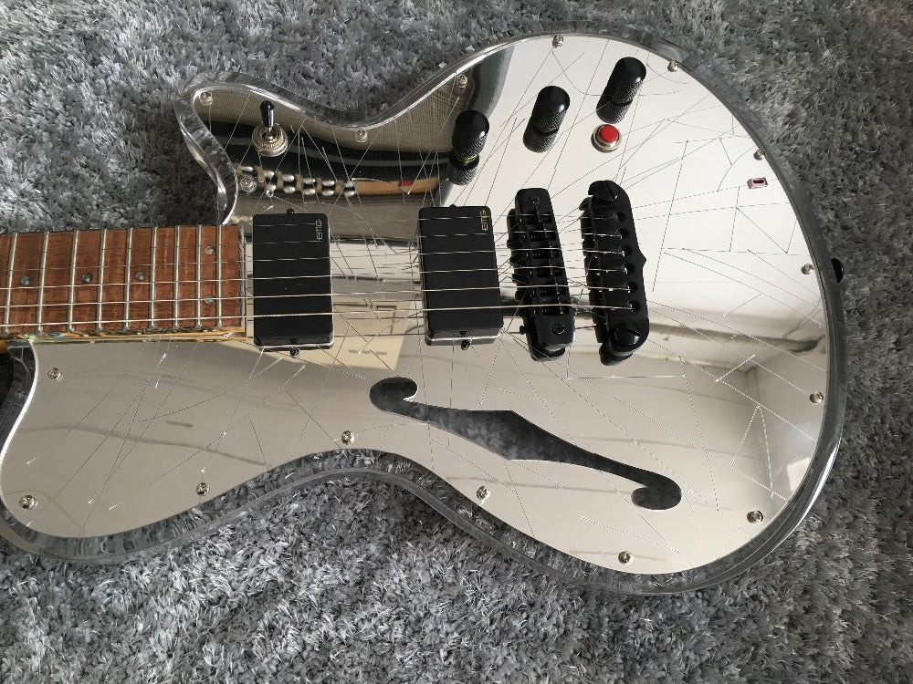 Custom J-1S 'Mirror Smasher' - Shred Maestro