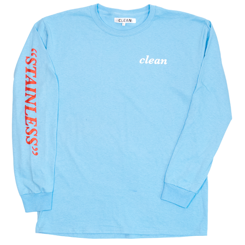 Stainless Longsleeve Light Blue