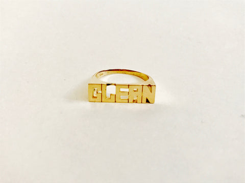 Small Gold Ring