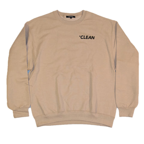 Logo Crewneck Tan