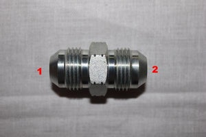 "3/8"" Male JIC x 3/8"" Male JIC Union [Steel]"