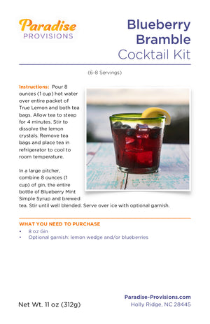 Blueberry Bramble (6-8 servings)
