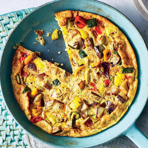 Roasted Veggie Frittata (6-8 servings)