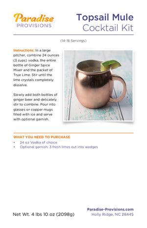 Topsail Mule (14-16 servings)