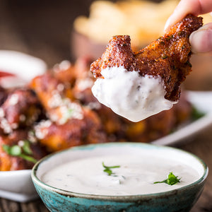 Baked Chipotle Chicken Wings