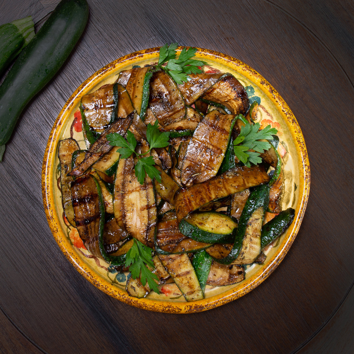 Balsamic Glazed Zucchini (4-6 servings)