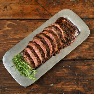 Barrel Aged Teriyaki Flank Steak (8-10 servings)
