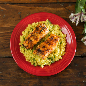 Blackened Grouper & Lemon Rice (4-6 servings)