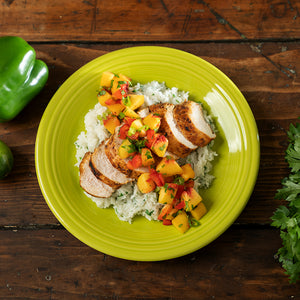 Island Chicken with Peach Salsa (4-6 servings)