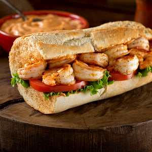 Grilled Shrimp Po' Boy with Smoked Paprika Aioli