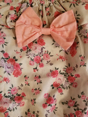 Floral outfit with headband