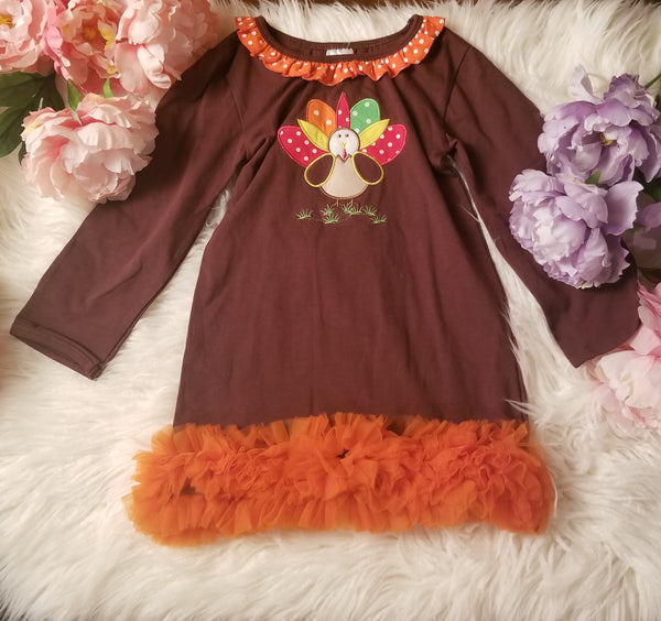 Turkey Ruffle Dress