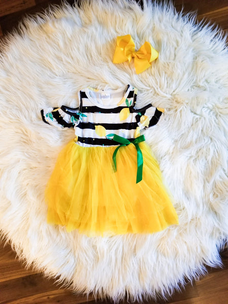 Lemon Tutu Dress