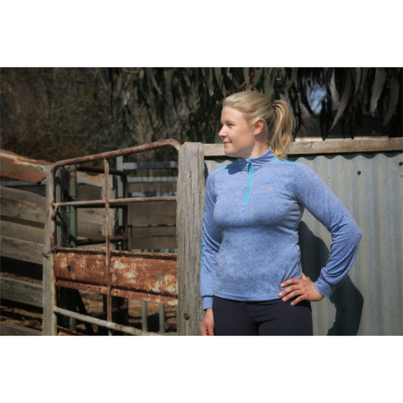 Tamara light blue long sleeve shirt