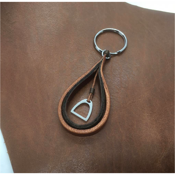 Stirrup Leather Key Ring