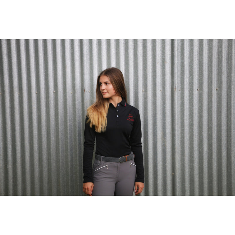 Hannah Longsleeve Technical Shirt Black