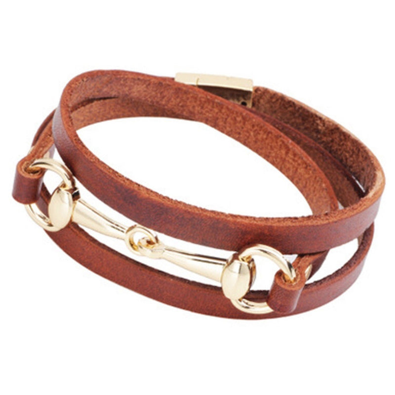 Bracelet wrap around horse bit