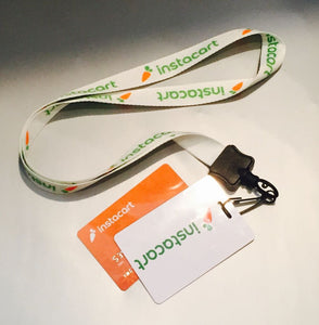 Card and Lanyard – Instacart Store
