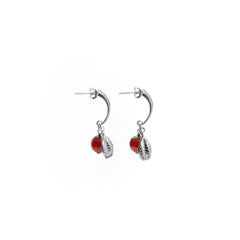 Crescent with Berry Earring - Swedish Berries