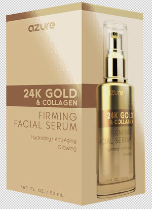 24K Gold and Collagen Firming Facial Serum