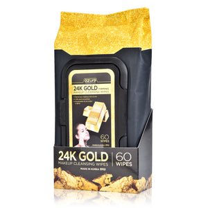 Collagen & 24K Gold Makeup Face Wipes