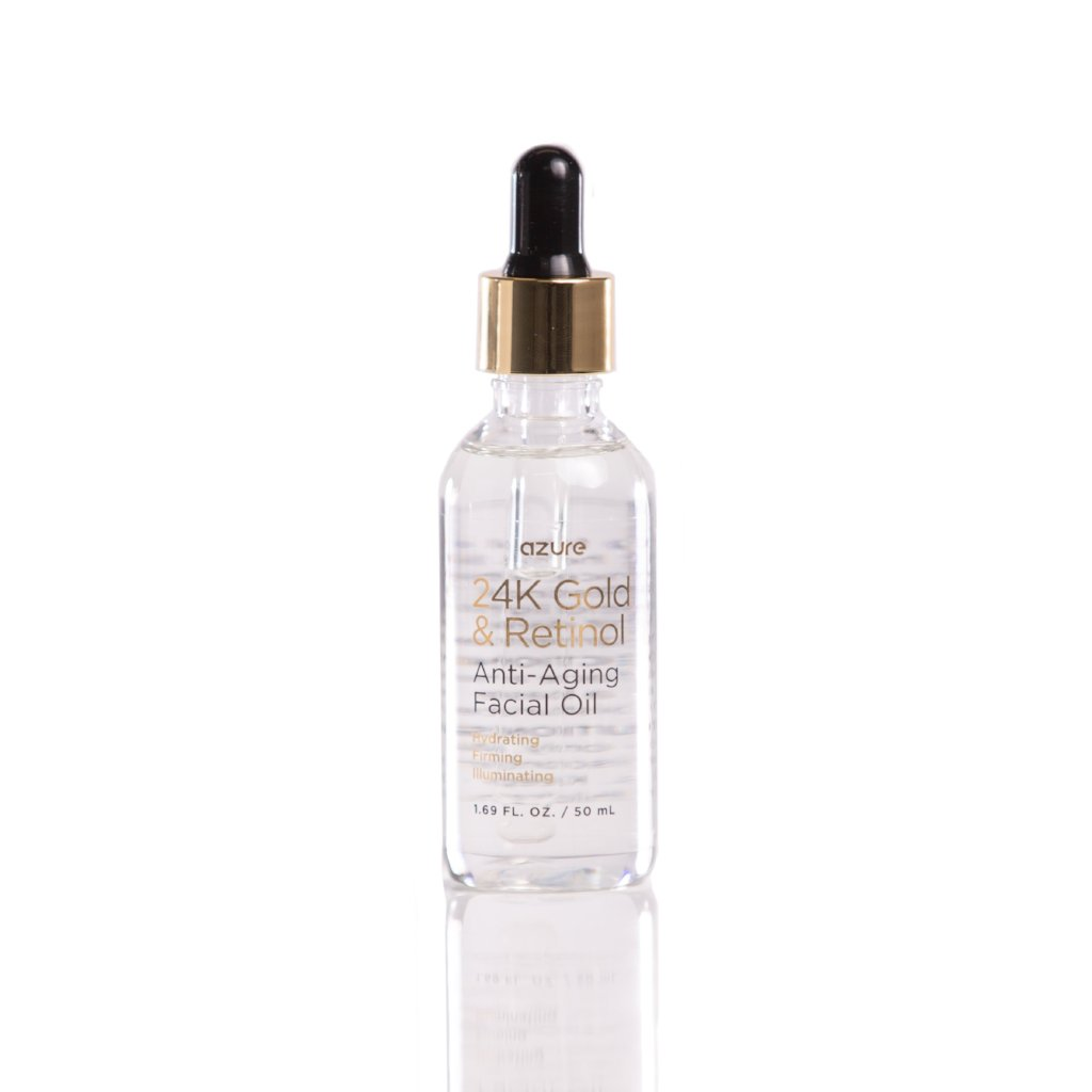 Anti Aging Facial Oil with Retinol & 24K Gold