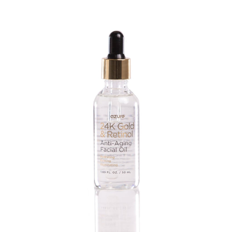 24K Gold and Retinol Anti-Aging Facial Oil