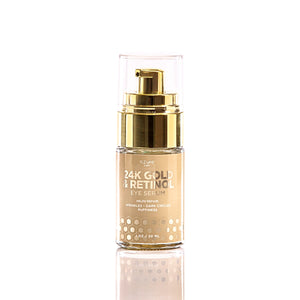 24K Gold and Retinol Luxury Eye Serum