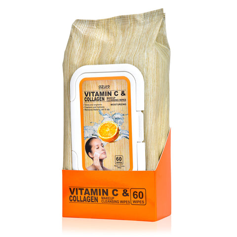 Vitamin C & Collagen Cleansing Wipes