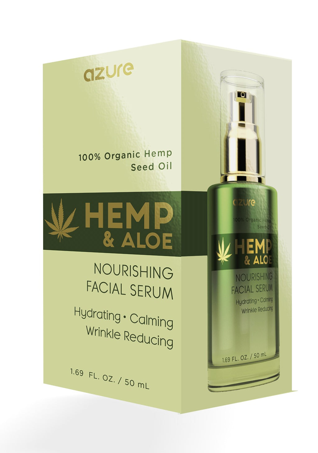 Hemp and Aloe Nourishing Facial Serum