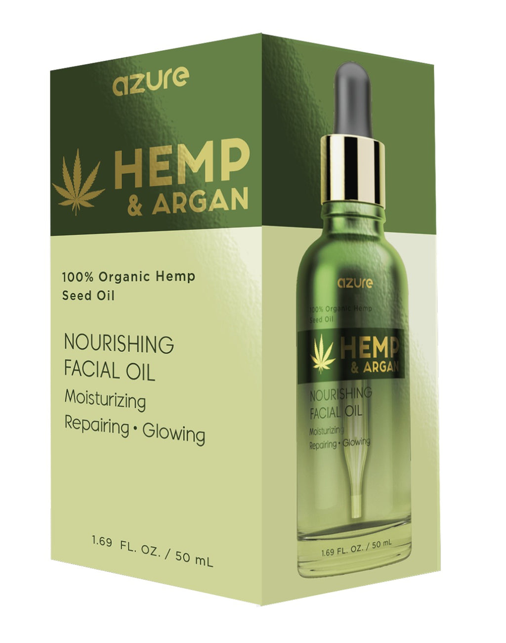 Hemp and Argan Nourishing Facial Oil