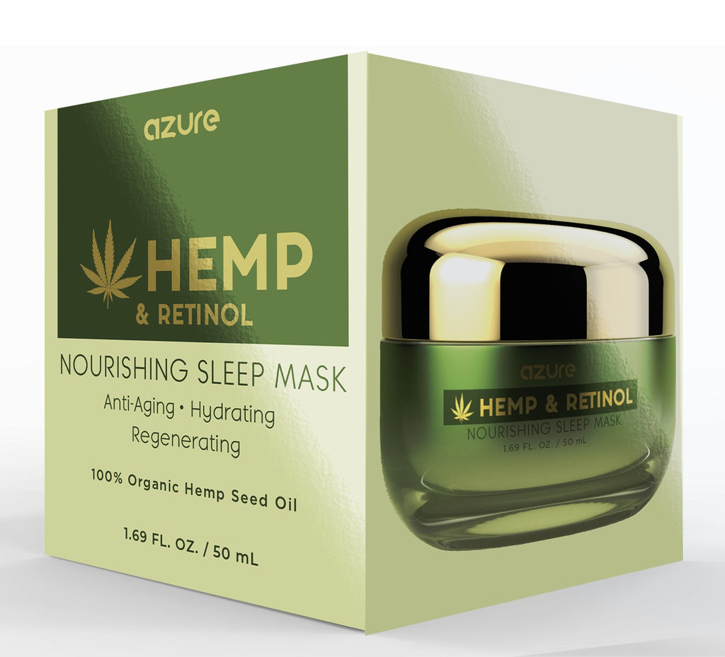 Hemp and Retinol Nourishing Sleep Mask