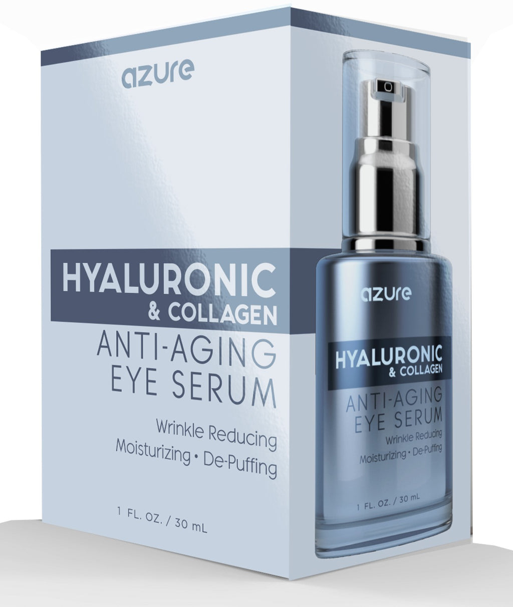 Hyaluronic and Collagen Anti Aging Eye Serum